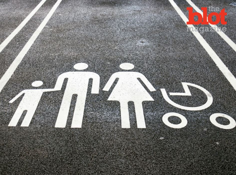 The Best Mom Ever and her Six-Year-Old Parking Spot Guard