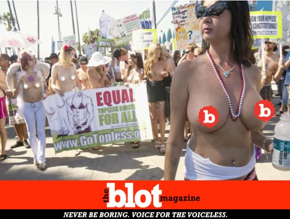 Pro-Breast Movement Has Topless Rallies in 54 Cities