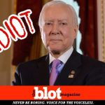 Idiot Orrin Hatch, Retirement Can't Come Fast Enough