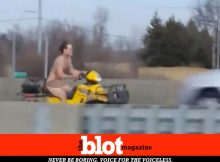 Kansas City Police Chase Naked Man on ATV for 85 Minutes