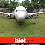 Mystery Abandoned Boeing 737 in Beautiful Bali