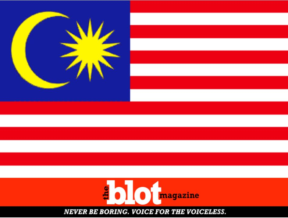 Racist Mistakes Malay Flag for Defaced US Banner, Calls FBI