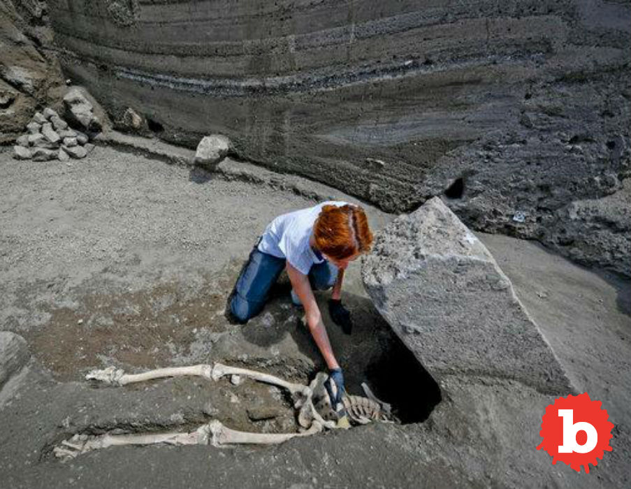 Ancient Pompeii Man Survived Eruption, Crushed by Stone