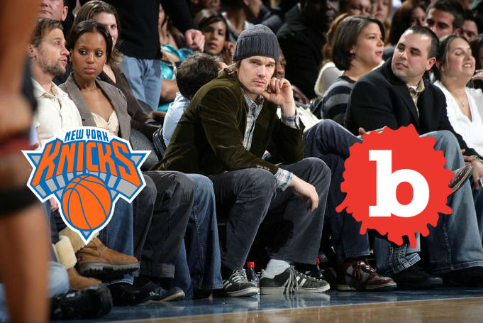 Ethan Hawke Criticized Knicks, Jim Dolan Takes Tickets Away