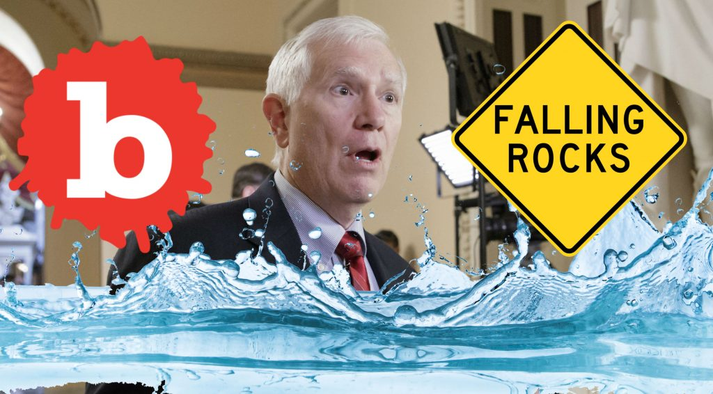 GOP Rep Brooks Says Rising Sea Levels Due to Falling Rocks