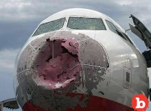 American Air Flight 1897 Emergency After Crazy Hail