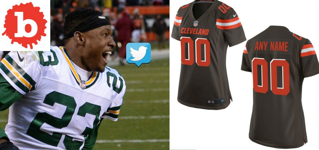 Browns Safety Damarious Randall Tweet Goes Lebron Viral