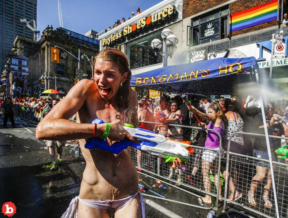 Gay Pride is the Best Time to Go Topless