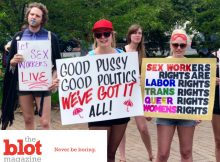 Sex Workers Protest Scary Law on International Whores Day
