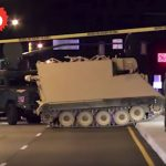 Virginia Police Mad Chase of Soldier in Armored Vehicle