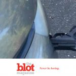 Washington State Commuter Finds Gun Stabbed into Car Bumper