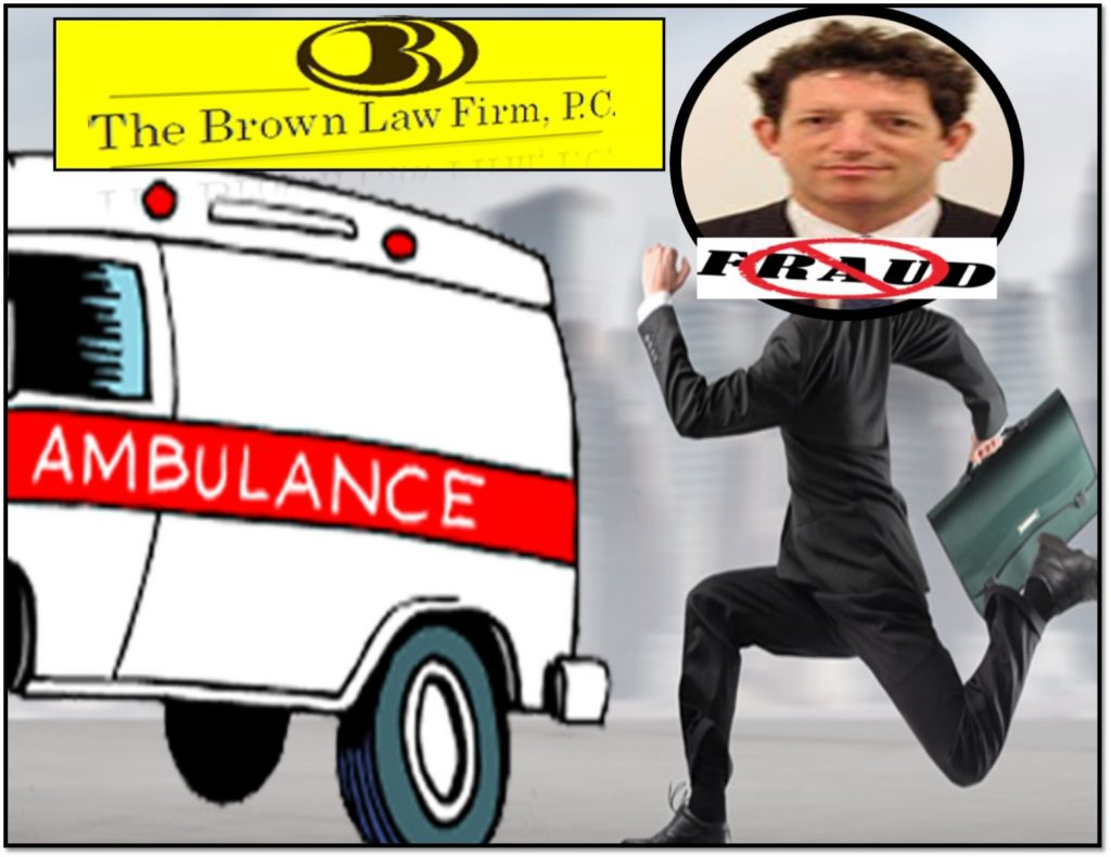 BREAKING, Timothy W Brown, Shady Ambulance Chasing Brown Law Firm Brownbag Federal Judge Robert Sweet