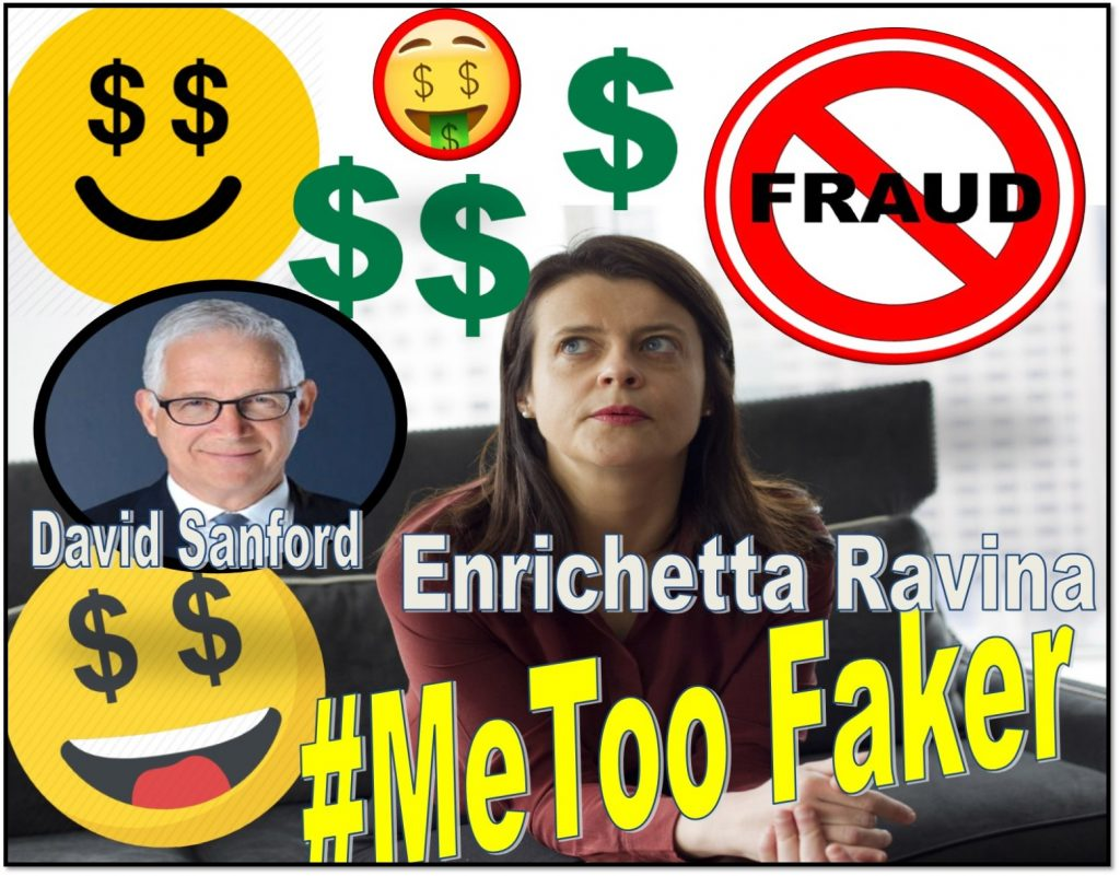 Investigations, Enrichetta Ravina Extorts Columbia University, Metoo Faker Hits Jackpot in Duped Jury Trial