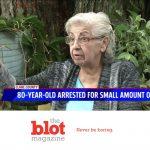 80-Year-Old Medical Marijuana Grandma in Freezing Jail