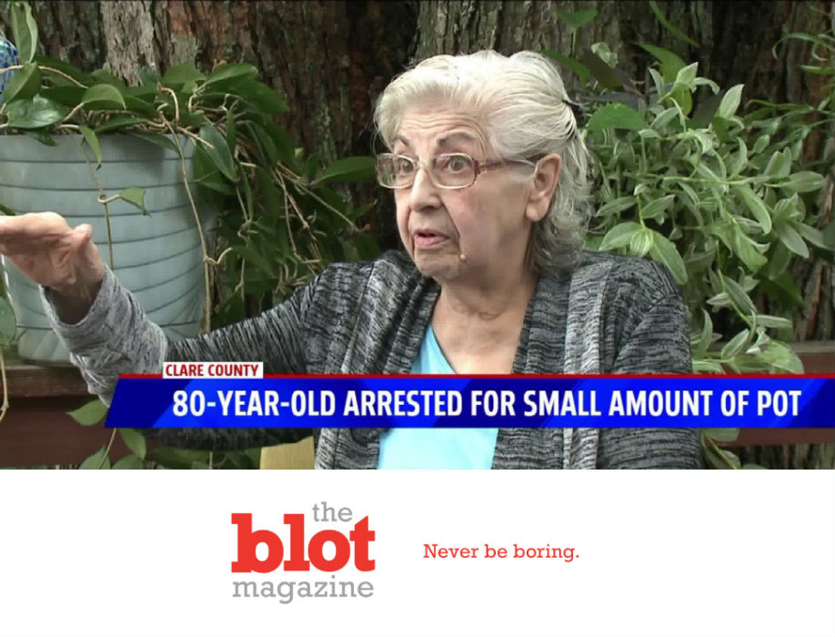 80-Year-Old Medical Marijuana Grandma in Freezing Jail