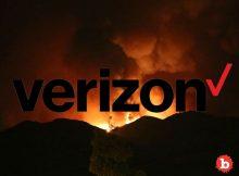 Evil Verizon Throttles Firefighters Fighting Wildfires