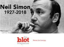 I Am Sad That Neil Simon Has Passed Away