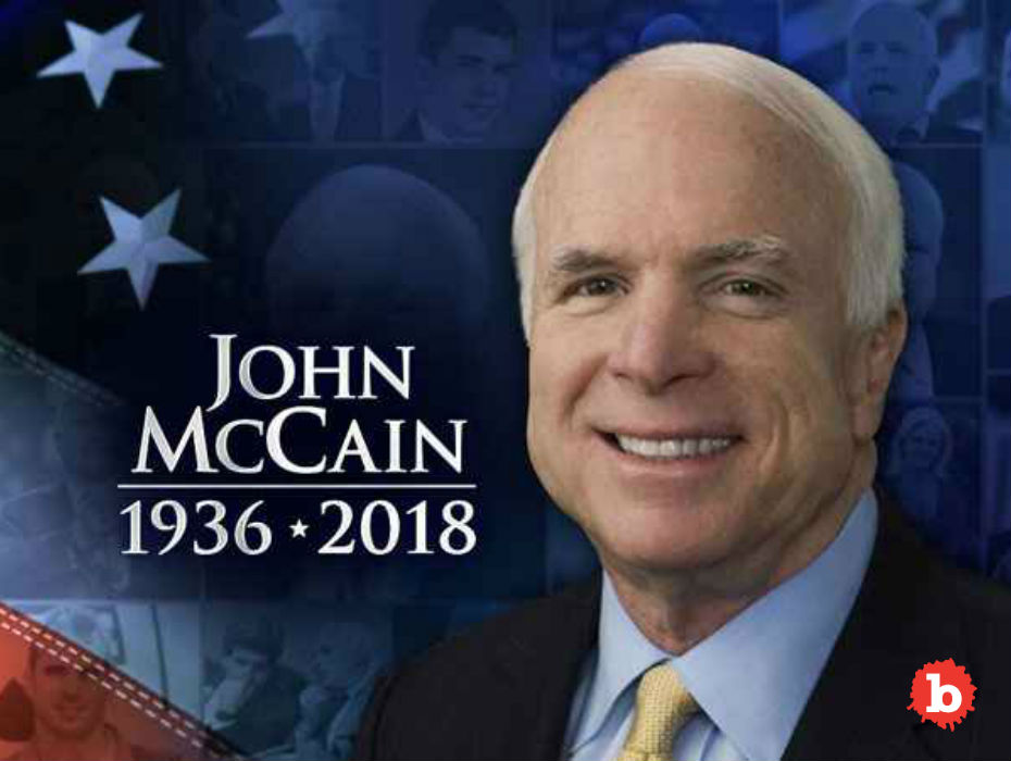 John McCain Died and Everyone Should Be Sad