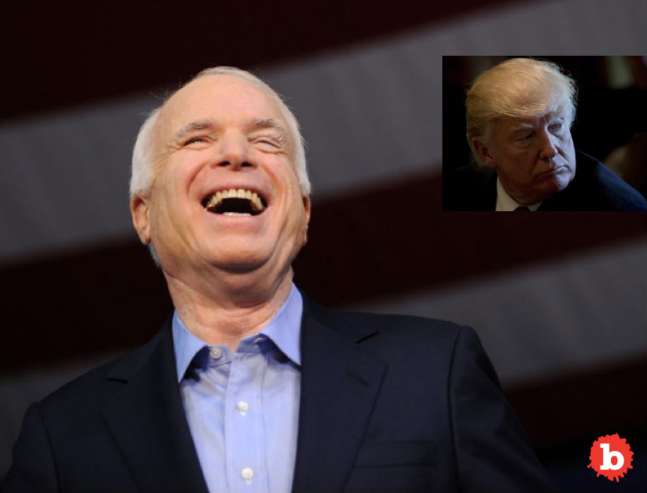 John McCain Planned His Funeral in Epic FU to Trump
