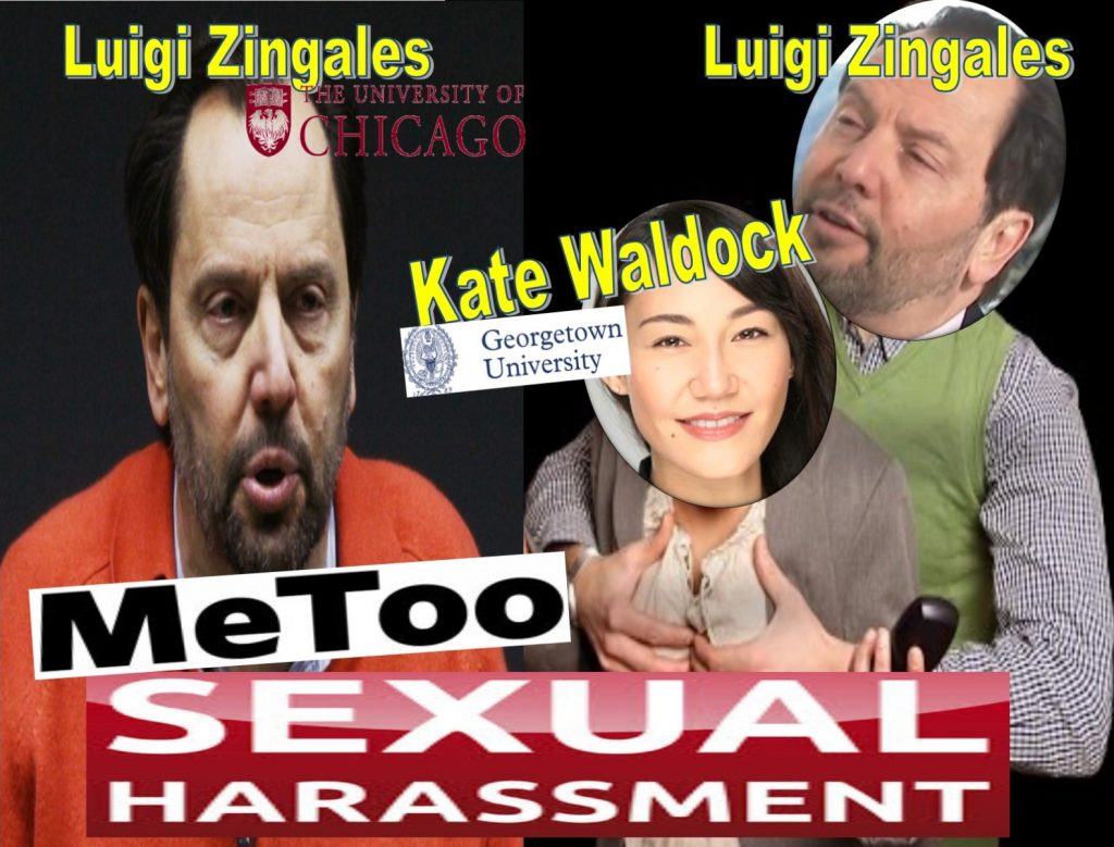 LUIGI ZINGALES, Chicago Booth School Business, polsky center, KATE WALDOCK, Georgetown University, Capitalisn't, podcast, sexual harassment, Enrichetta Ravina, David Sanford, Geert Bekaert, Columbia