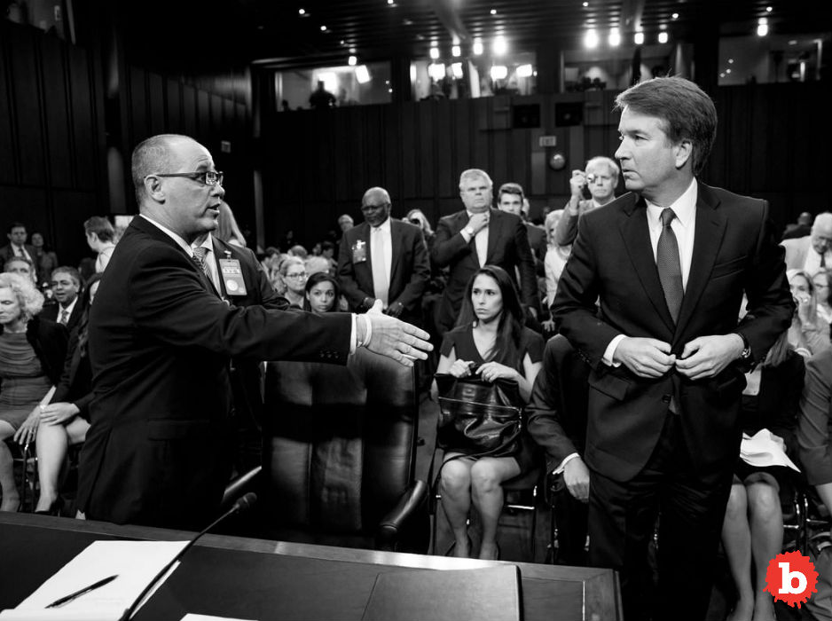 Brett Kavanaugh Won't Shake Hand of Parkland Victim Father