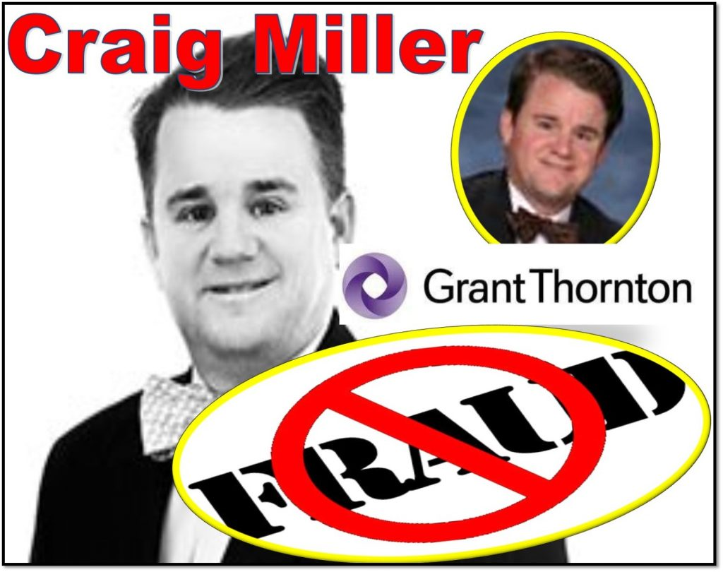 CRAIG MILLER, PARTNER, GRANT THORNTON, NATIONAL PROFESSIONAL PRACTICE, BALTIMORE, ED KNIGHT, NASDAQ Listing and Hearing Review Council, AICPA fraud