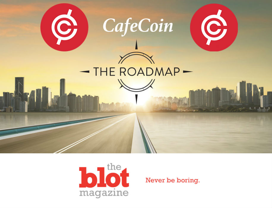 CafeCoin's Technology Development Roadmap and Blockchain Design