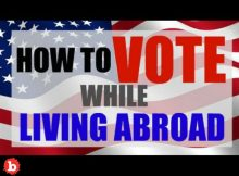 Here's How to Vote if You Are Living Abroad