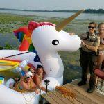 Minn. Police Rescue Women Stranded on Giant Unicorn Float