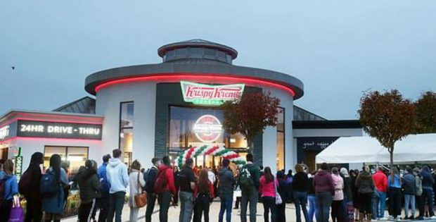 Dublin's First Krispy Kreme a Scene of Utter Irish Chaos