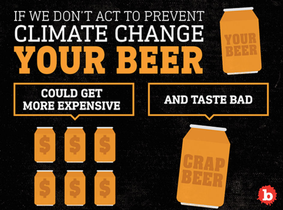 Lament! Climate Change Will Kill Beer Too
