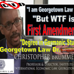 CHRIS BRUMMER, Georgetown Law Perv Professor Suffers Deadly Blow Against Free Speech, New York High Court Defends First Amendment