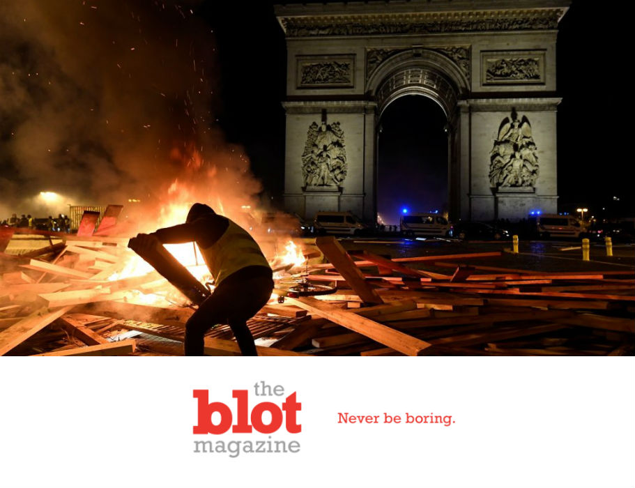 Huge French Protests, As Carbon Gas Tax to Save World Hits Poorest