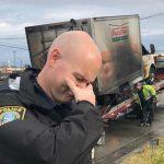 American Cops Mourn Krispy Kreme Doughnut Truck Fire