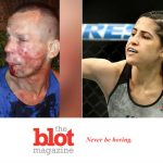 Idiot Attempts to Rob Female MMA Fighter