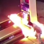 Arachnophobia Causes Man to Burn Down Gas Pump