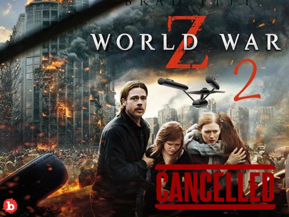 Can Brad Pitt Save World War Z2 From Paramount?