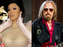 Cardi B Eats Foot After Thanking Dead Tom Petty for Flowers