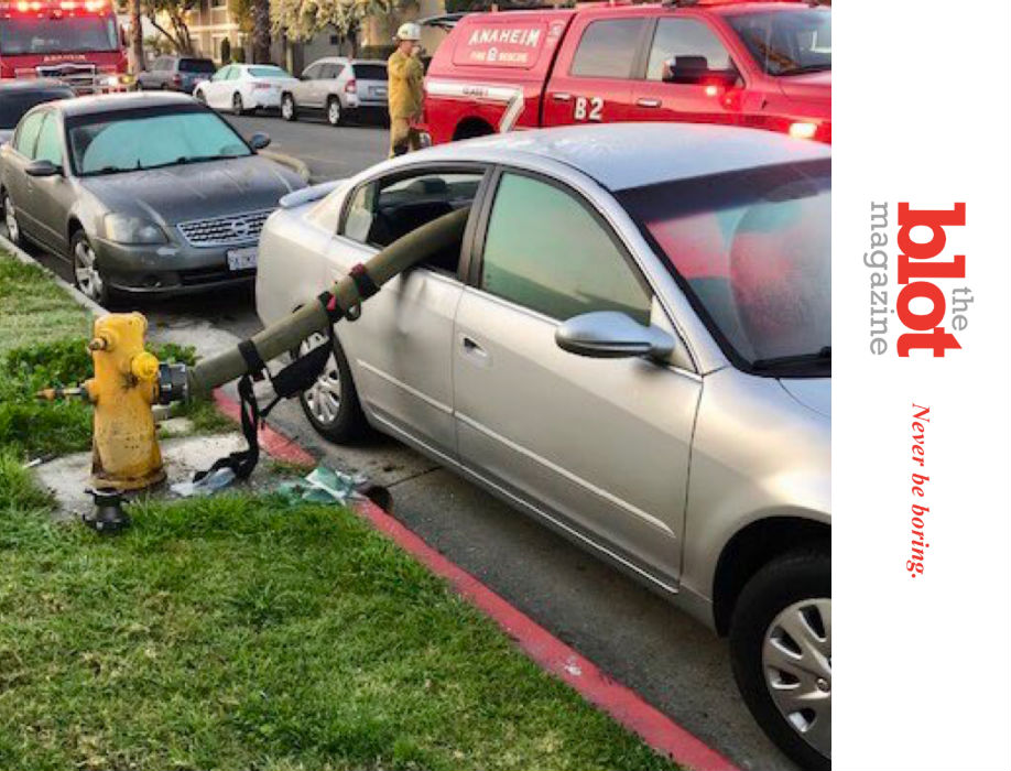 Anaheim Fire Department Shames Hydrant Parkers
