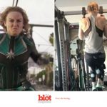 The Brie Larson Captain Marvel Workout Was For Reals