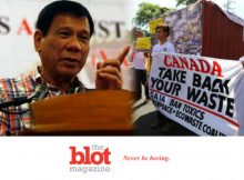 Philippines Duterte Threatens War With Canada Because Trash