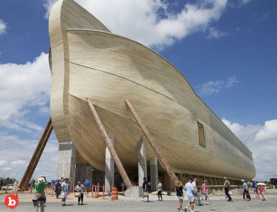Irony Dies Noahs Ark Replica Owner Sues for Rain Damage