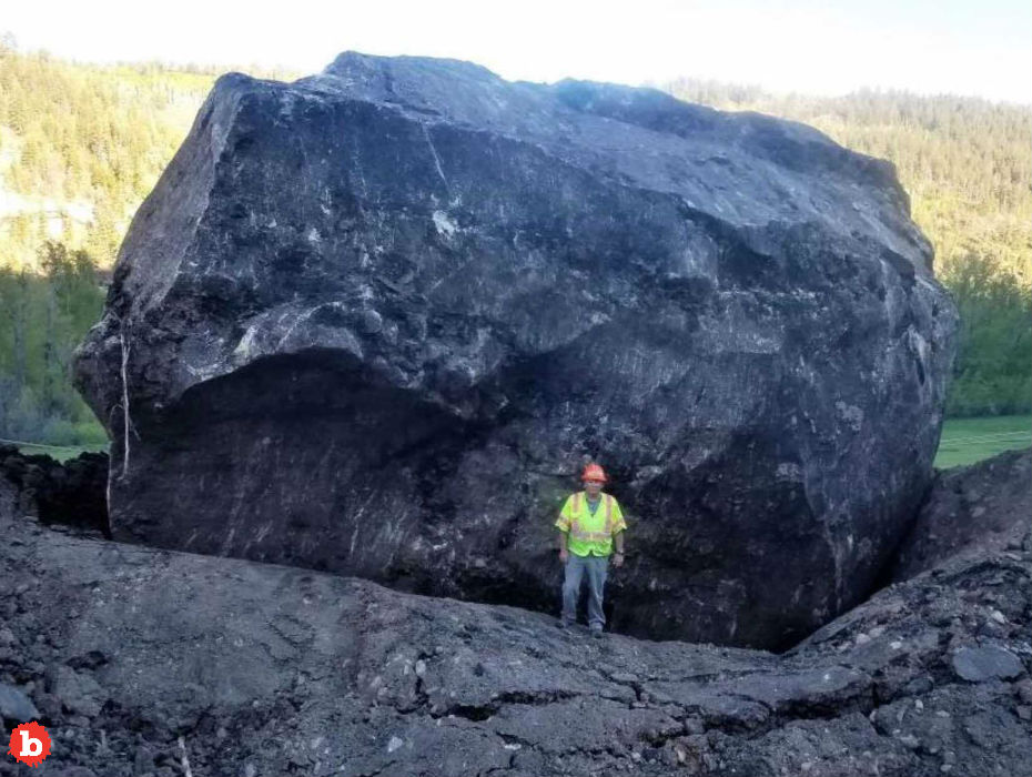 Too Big to Move, Colorado Landslide Boulder to Be Landmark
