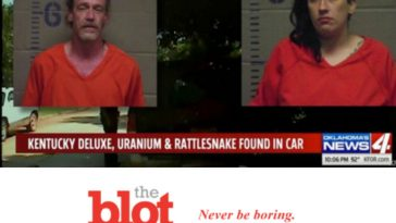 Police Arrest Duo in Car With Rattlesnake, Booze and Uranium Powder