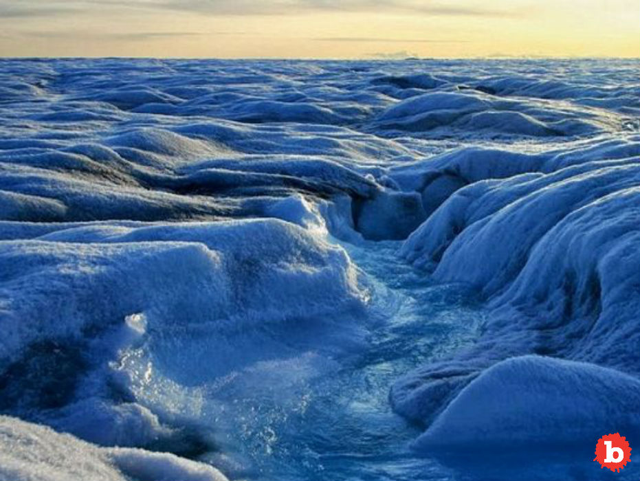 12.5 Billion Tons of Ice Fall From Greenland Into Sea in Single Day