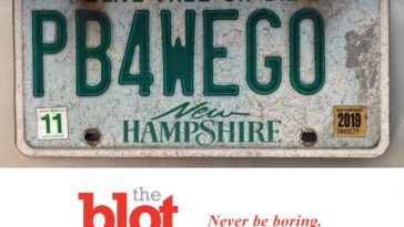New Hampshire Woman Fights State to Keep PB4WEGO License Plate