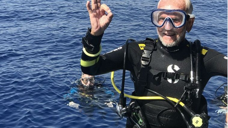 Oldest Man to Ever Scuba Dive Sets Record at Age 96