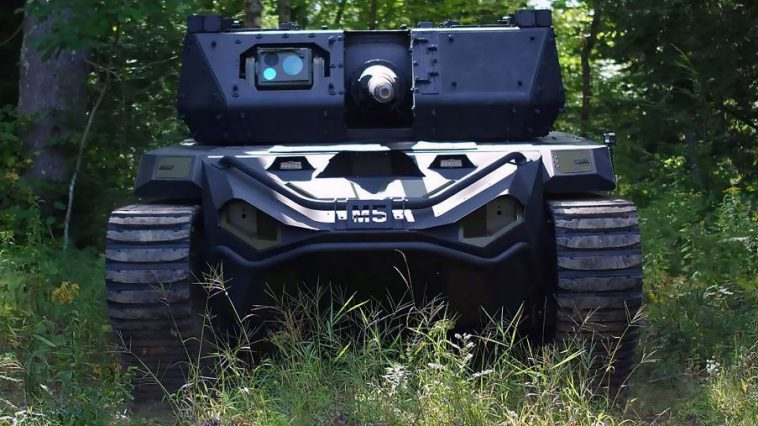 Skynet Gets Closer With Ripsaw M5 Robotic Tank