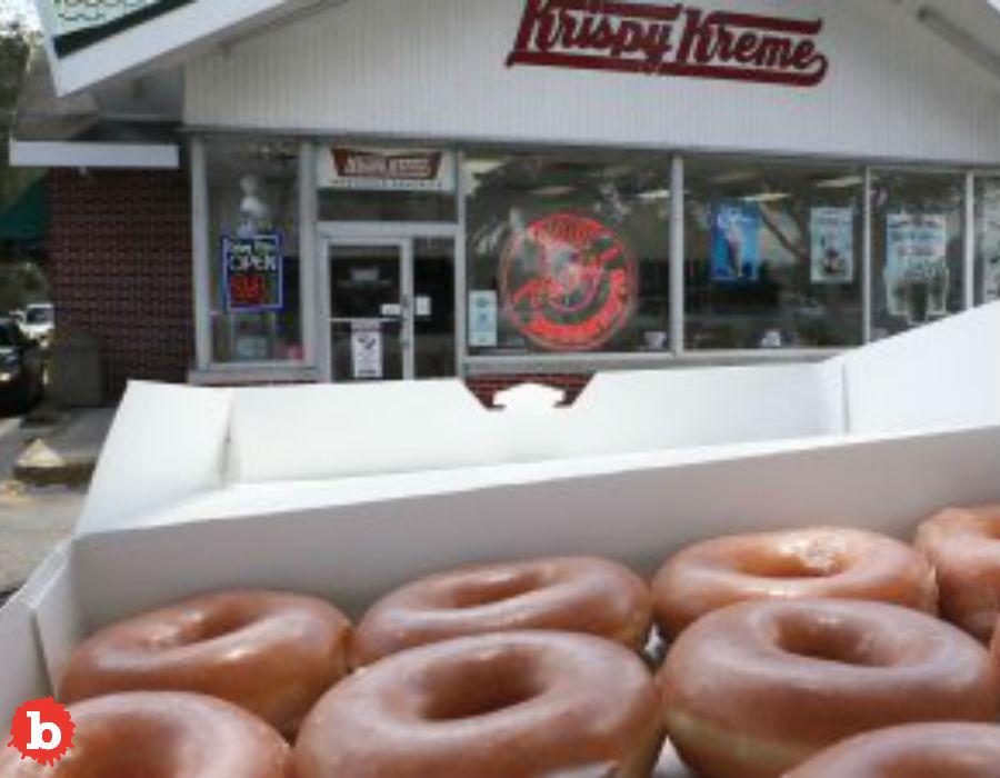 Krispy Krème Kills Student Entrepreneur Biz Selling Donut