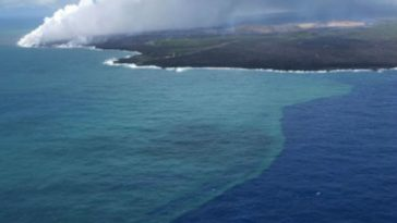 2018 Kilauea Eruption Caused Huge Phytoplankton Bloom